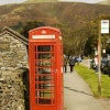 Grasmere village 9 phone box