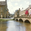 A bridge at Bourton-on-the-Water