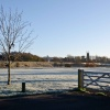 The Trent Washlands in the frost