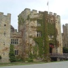 Hever Castle in July