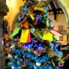 Christmas tree festival Thurmaston Church