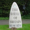 The Battle of Britain Memorial in Capel le Ferne
