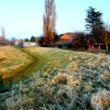 On a cold and frosty morning in Thurmaston