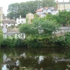 Knaresborough riverside across the Nidd