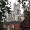 York Minster from the town wall