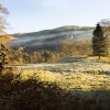 Frosty Grasmere meadow