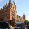 St Pancras Chambers from Euston Road