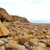 Rocky shore at Whitburn