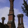Ornate Chimneys in Hadleigh