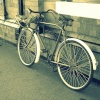 Bicycle at Rothley Station