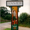 Anmer Village Sign
