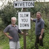 Wivenhoe Village Sign