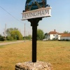 Hevingham Village Sign