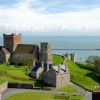 Dover Castle, Saxon church and Pharos
