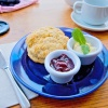 Cream Tea at St Ives, Cornwall