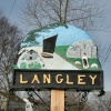 Langley Village Sign