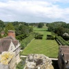 View from the top of Coughton Court