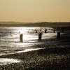 Camber Sands, evening light