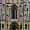 The West Front of the Tower at St Wulfram's Church Grantham