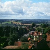 View from St Mary`s Church tower, Goudhurst