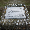 Plaque on Dunwich Heath referring to the threat of the Spanish Armada in1588