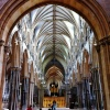 The Nave of Lincoln Cathedral