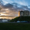 Clifford's Tower Sunset