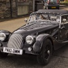 Classic British car in Ambleside