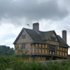 Clouds over Stokesay Castle