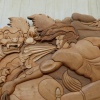 Wood carving Kew
