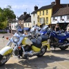 Motorbikes at Ironbridge