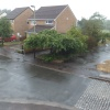 Up Hatherley gets a soaking