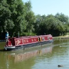 Narrow Boat at Foxton Locks