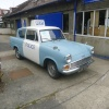 Original Ford Anglia as used in Heartbeat TV series, Goathland