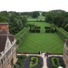 View from the roof of Coughton Court