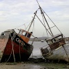 Old Wrecks at West Mersea