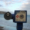 Coin operated telescope, Swanage seafront