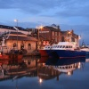 Weymouth Harbour at dusk