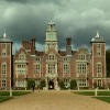 Blickling Hall, Norfolk,  in stormy weather