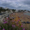 Broadstairs Beach, 2013, just before a brief rain-storm.