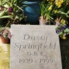 Memorial to Dusty Springfield, Henley-on-Thames