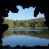 Stourhead from the Grotto
