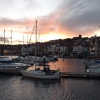 May Sunset over Scarborough Harbour