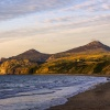 The Rivals at Sunset from Nefyn Beach