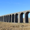 Ribblehead Railway viaduct, Settle to Carlisle railway line, North Yorkshire