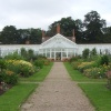 The magnificent walled garden and greenhouse at Clumber Park, 17th July 2012