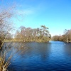 The Lake at Nidd on a cold winters afternoon.