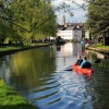 Paddling on the River Cam