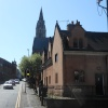 Compton Street & Church of St Mary, Leek, Staffordshire