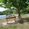 A place to rest, the river Soar at Thurmaston